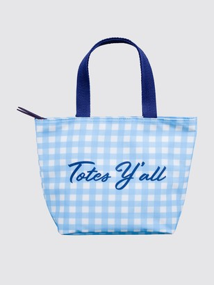 Draper James Totes Y'all Gingham Lunch Tote