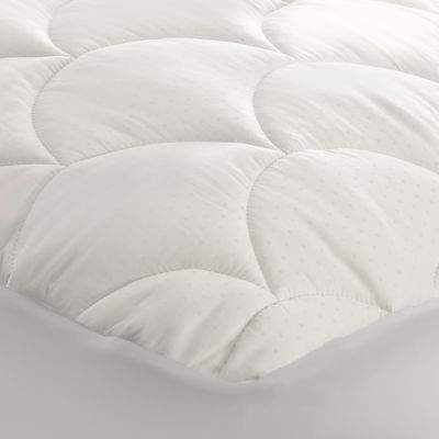350-Thread Count Cotton Damask Full Mattress Pad