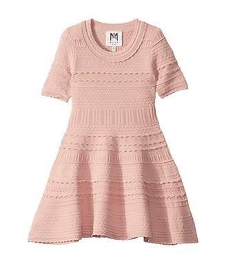 Milly Textured Tech Dress (Toddler/Little Kids)