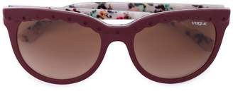 Vogue Eyewear scalloped detail sunglasses