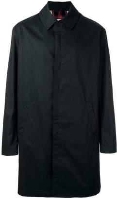 Maison Margiela checked lining coat