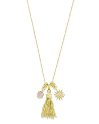 Kendra Scott Love & Light Charm Necklace Set in Gold