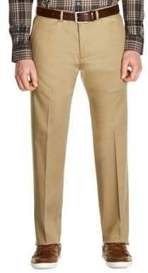 Haggar Premium No Iron Straight Fit Khaki Pants