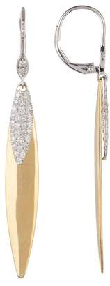 Meira T 14K Yellow Gold Diamond Drop Earrings - 0.54 ctw