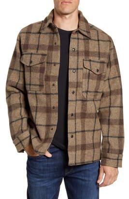 Filson Mackinaw Plaid Wool Flannel Shirt Jacket