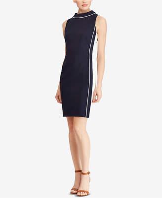 American Living Two-Tone Jacquard Dress