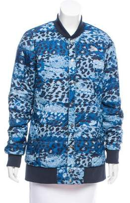 The North Face Leopard Print Quilted Jacket