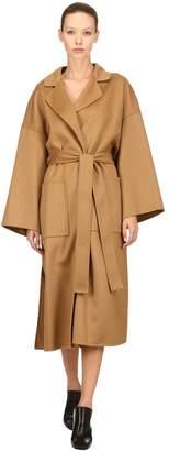 Loewe Oversized Wool & Cashmere Coat