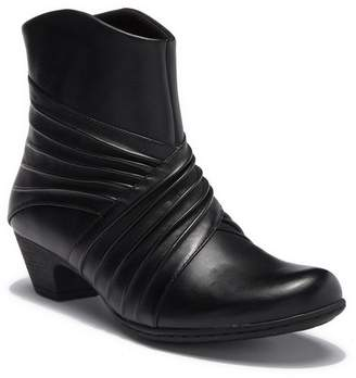 Rockport Brynn Rouched Leather Bootie - Wide Width Available