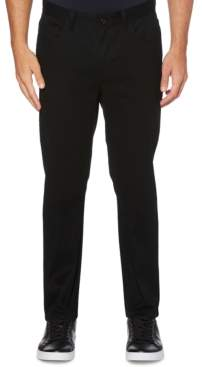 Perry Ellis Men's Big Slim-Fit Performance Stretch Wrinkle-Resistant Stain-Repellent Twill Pants