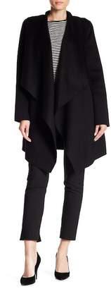 Cole Haan Wool Blended Wrap Coat