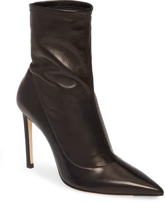 Jimmy Choo Brin Slouch Pointed Toe Stiletto Bootie