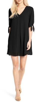 Women's Soprano Jules Split Sleeve Shift Dress $49 thestylecure.com