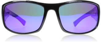 Dirty Dog Muzzle Sunglasses Shiny Black AHMPOL Polariserade 65mm