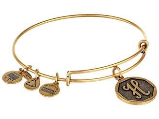 Alex and Ani Initial H Charm Bangle Bracelet