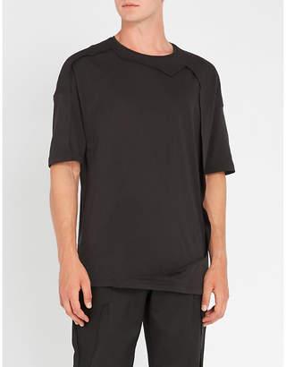 Chalayan Seam-detail cotton-jersey T-shirt