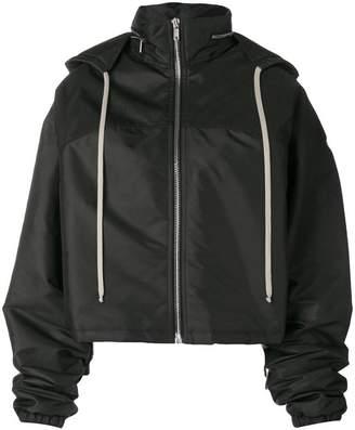 Rick Owens oversized zip front jacket