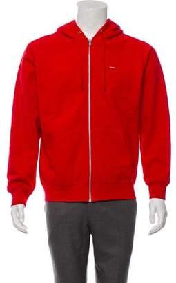 Supreme Zip-Up Hooded Sweatshirt