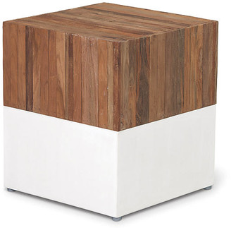 Magic Cube Concrete Stool - Natural - Seasonal Living
