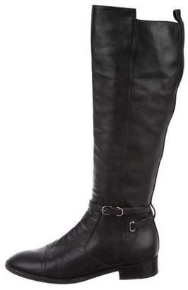 Balenciaga Round-Toe Mid-Calf Boots