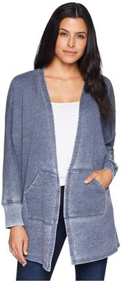 Allen Allen Open Cardigan Women's Sweater