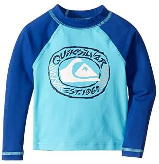Quiksilver Bubble Dream Long Sleeve Rashguard (Toddler/Little Kids)