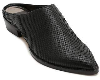 Dolce Vita Women's Aven Snake-Embossed Leather Mules