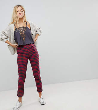 Daisy Street Tailored Trousers In Check