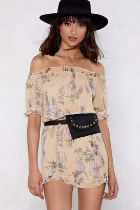 Nasty Gal Letting Grow Floral Romper