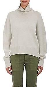 Nili Lotan Women's Serinda Wool-Cashmere Turtleneck Sweater - Light Gray