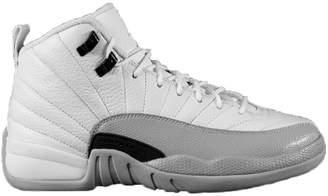 Jordan Nike Air 12 Retro GG Basketball Sneaker white/gray, Color:white, EU Shoe Size:EUR 37.5