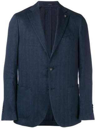 Lardini classic tailored blazer