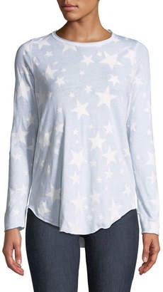 Chaser Glitter Stars Long-Sleeve Tee