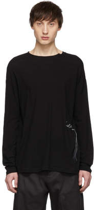 Isabel Benenato Black Signature Long Sleeve T-Shirt