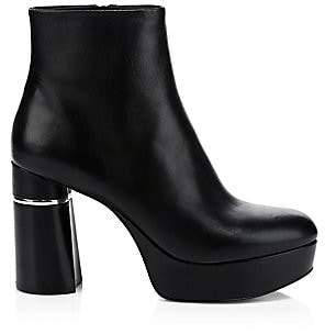 3.1 Phillip Lim Women's Ziggy Leather Platform Booties