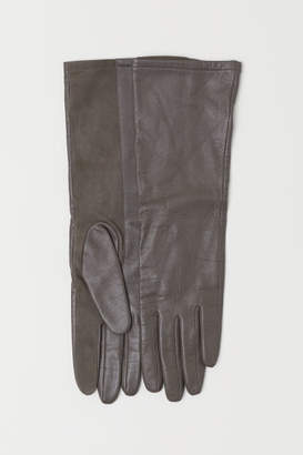 H&M Leather Gloves - Beige