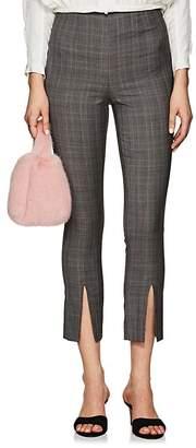 Frame Women's Plaid Wool High-Rise Pants