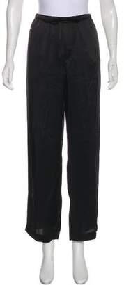 Brunello Cucinelli Sateen Wide-Leg Pants