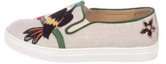 Charlotte Olympia Flamboyant Alex Slip-On Sneakers