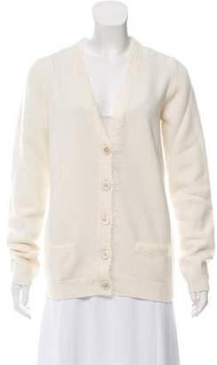 Prada Wool & Cashmere-Blend Cardigan w/ Tags