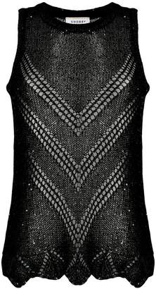 Snobby Sheep sequin embellished knit top
