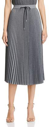 Lafayette 148 New York Gwenda Pleated Midi Skirt