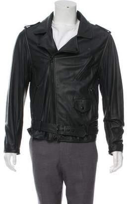 3.1 Phillip Lim Leather Zip-Up Jacket