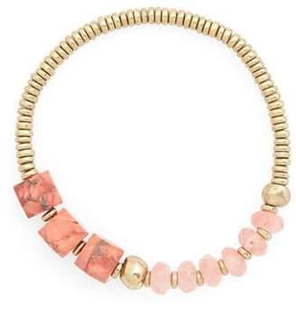Treasure & Bond Semiprecious Stone Nugget Bracelet