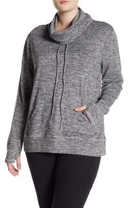 Marika Carmel Cozy Cowl Neck Sweatshirt (Plus Size)
