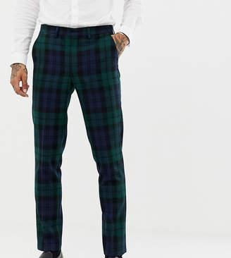 Heart & Dagger slim suit trouser in blackwatch check