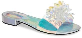 Jeffrey Campbell Snowflake Embellished Slide Sandal (Women)