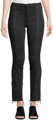 Blank NYC Black Planet Zip-Leg Jeans