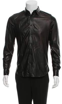 Saint Laurent 2013 Leather Shirt
