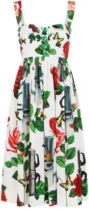Dolce & Gabbana Coffee Pot Mini Dress